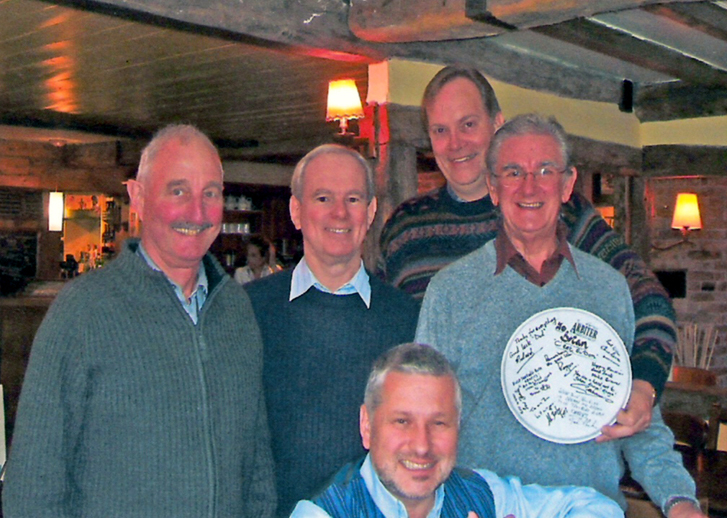 Brian Price's Retirement.2006