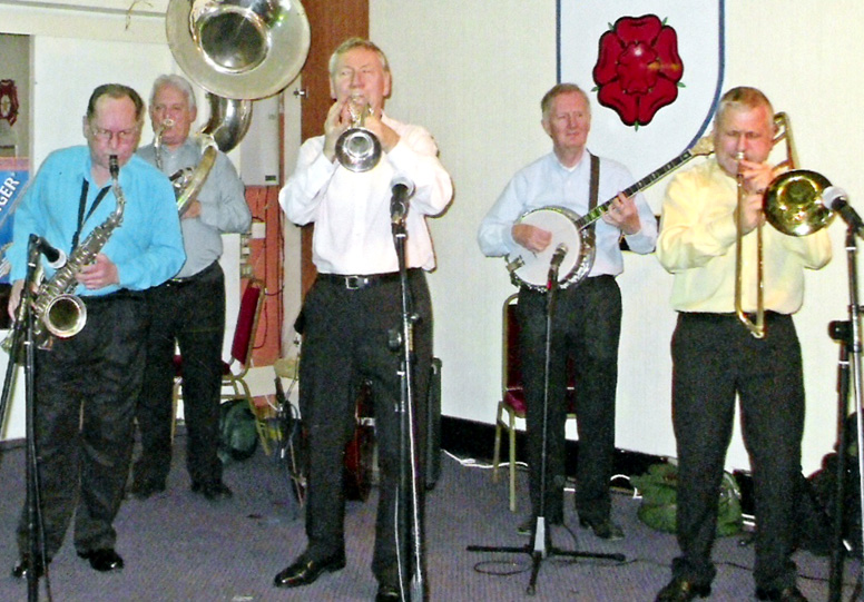 Clubhouse 5 with Norman Field at Sutton Coldfield JC