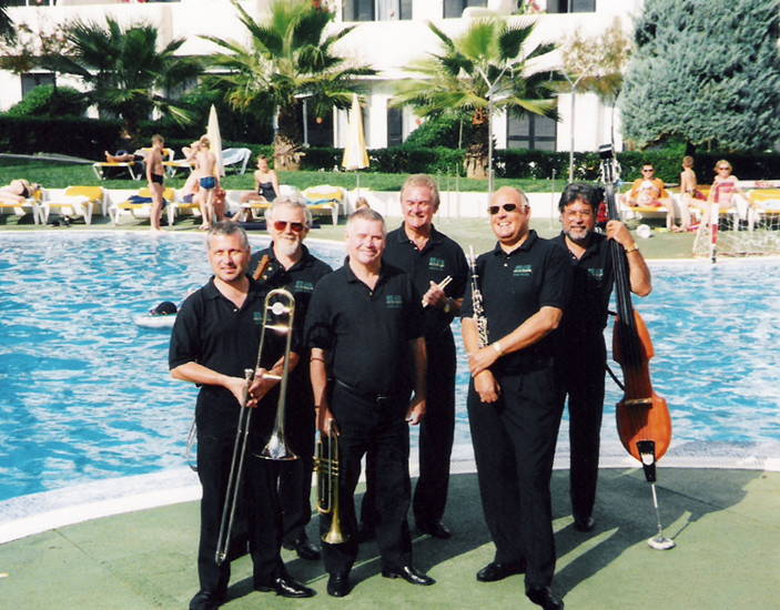 Pete Allen Jazzband Majorca 2001 Tough Job!