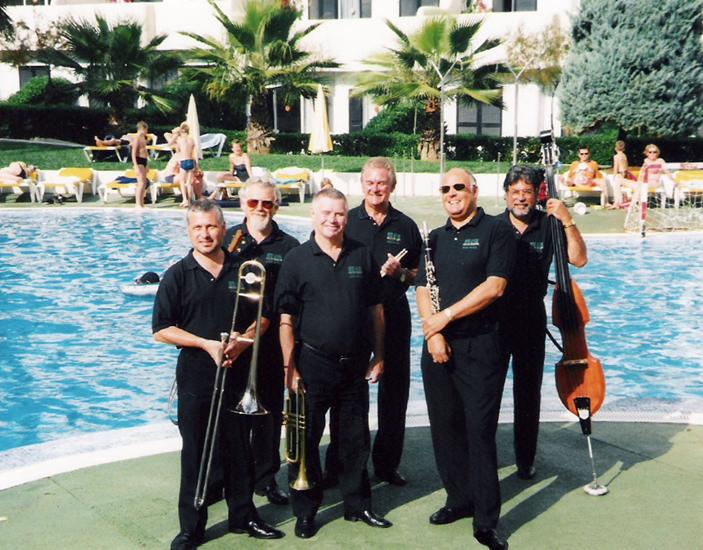 Pete Allen Jazzband Majorca 2001 Tough Job!