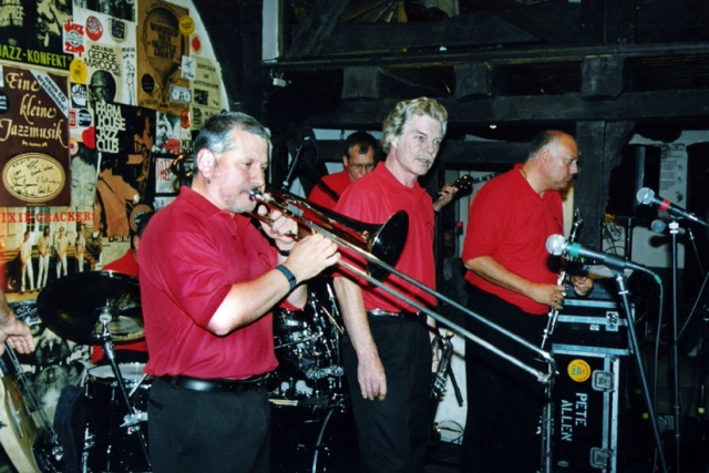 With Pete Allen Band, Harsewinkel, Germany 2004