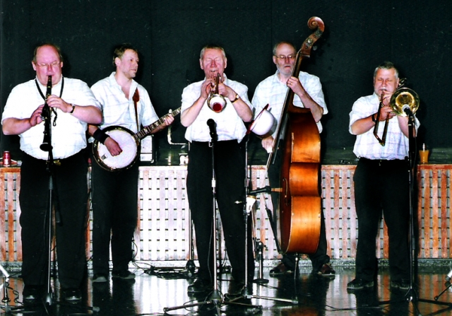 With the Wabash Jazzmen, Southend Jazz Club 2005